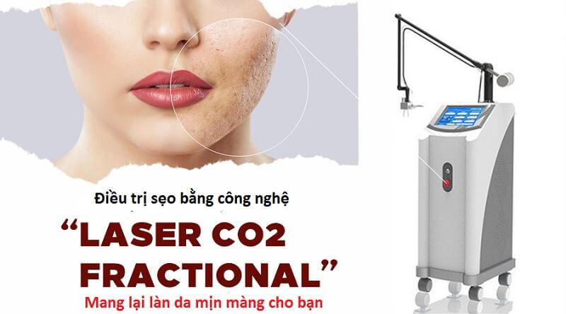Laser Fractional CO2 – Công nghệ  cao trong điều trị sẹo